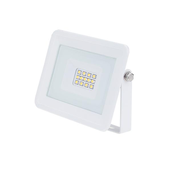 Бял 10W LED прожектор