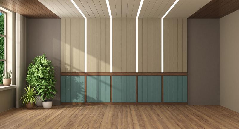 Внедрено в стената и тавана LED осветление
